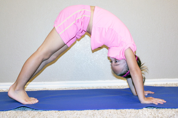 Downward-facing dog: Yoga poses for kids