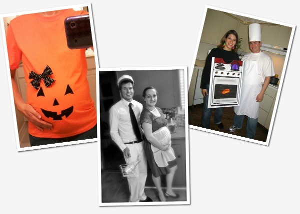 dress your baby bump for halloween - Magic 8 Ball Halloween Costume