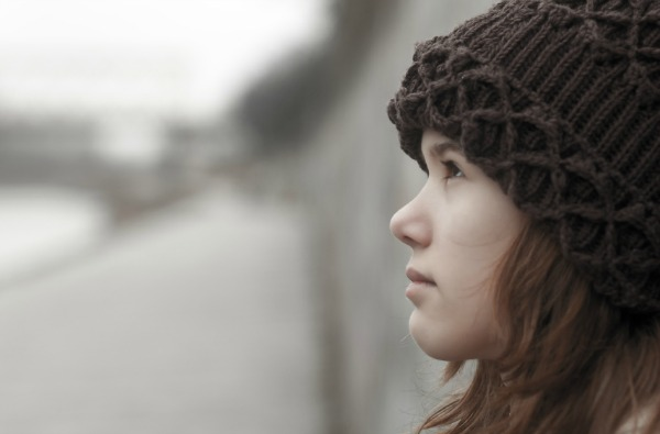 Teen girl with Seasonal Affective Disorder