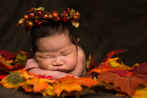 A new baby plus a houseful of Thanksgiving guests — what's a brand new mom to do?