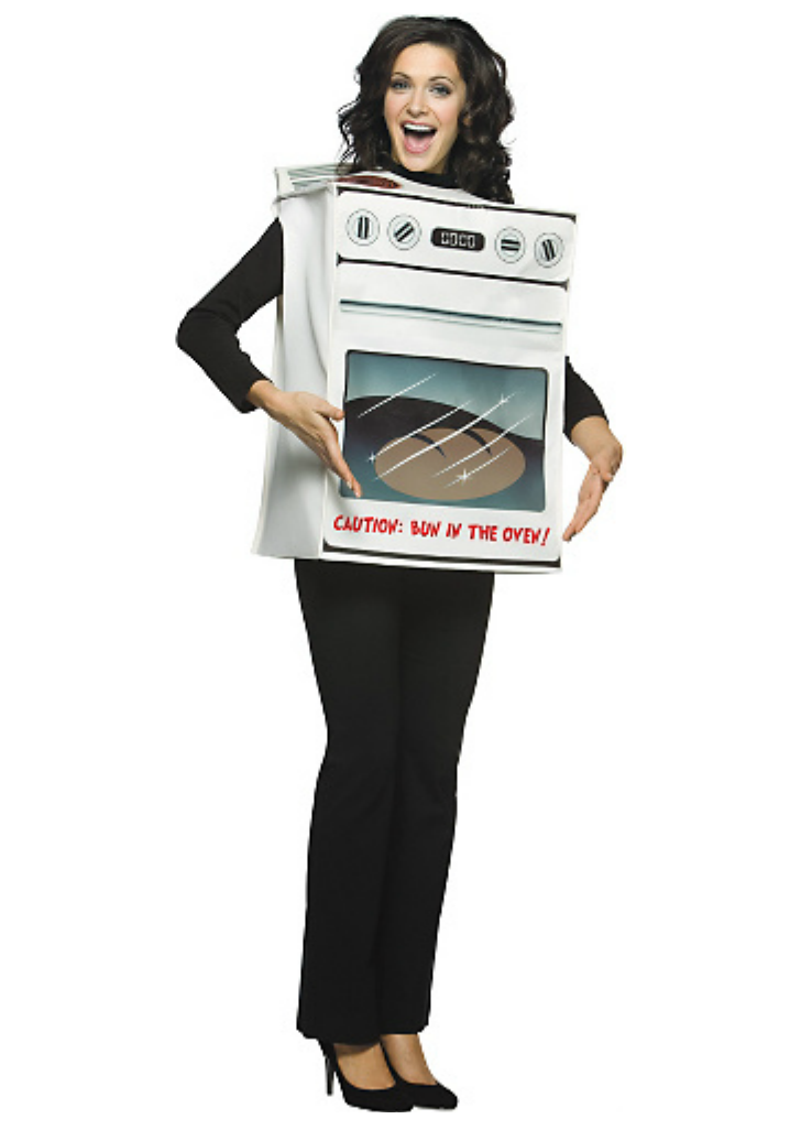 Bun-in-the-oven Maternity costume