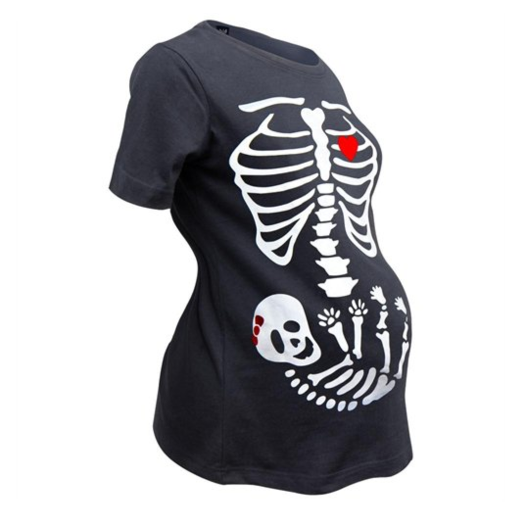 Maternity Halloween t-shirt