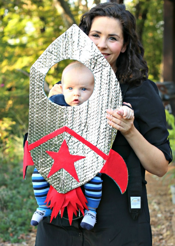 No-sew costume idea: Baby rocket