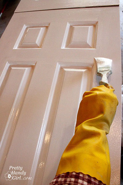 Painting doors like a pro