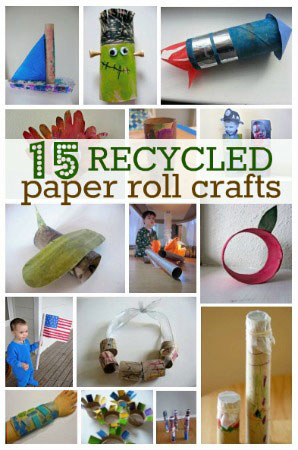 Toilet paper craft round-up