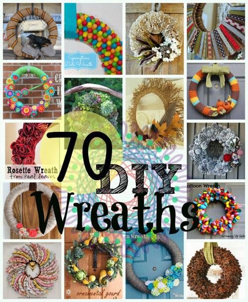 70 DIY Wreaths