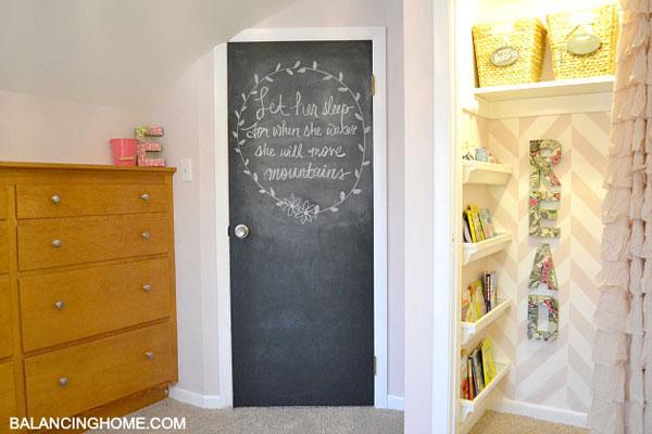 Clever closet reading nook