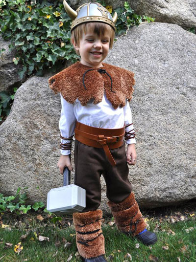 A viking costume for less than $25