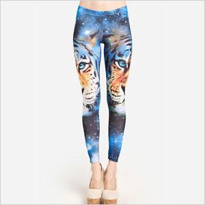 Space cat leggings