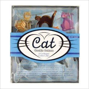 Cat shaped cookie cutters