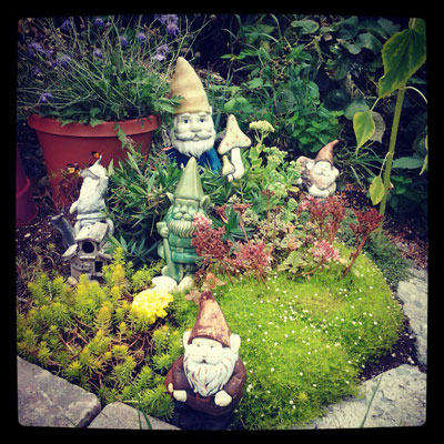 Garden gnome villages