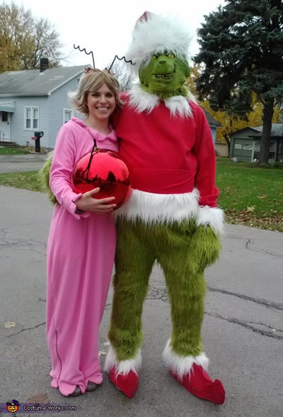 Grinch and Cindy Lou Who