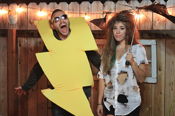 Get some Laughs with these creative couple costumes