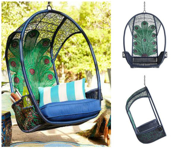 15 amazingly cool outdoor furniture sets - Pier one peacock chair ...