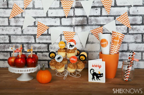Throw a cute and scary Halloween party