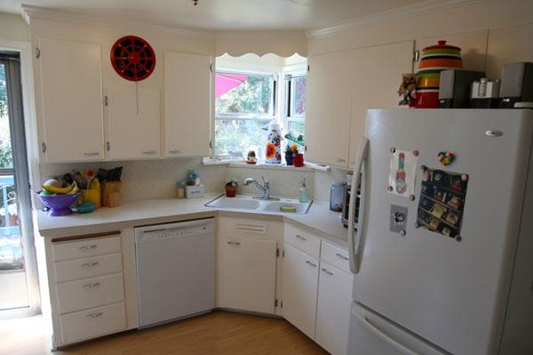 Vivi Dot kitchen before