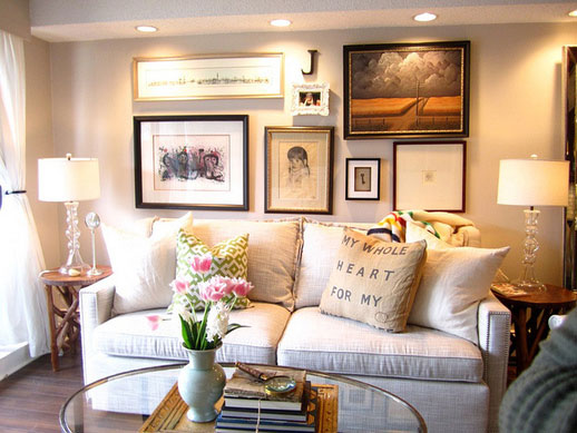 Jillian Harris living room