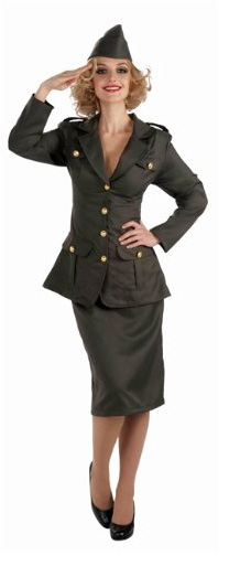 1940's: The WWII Army Gal