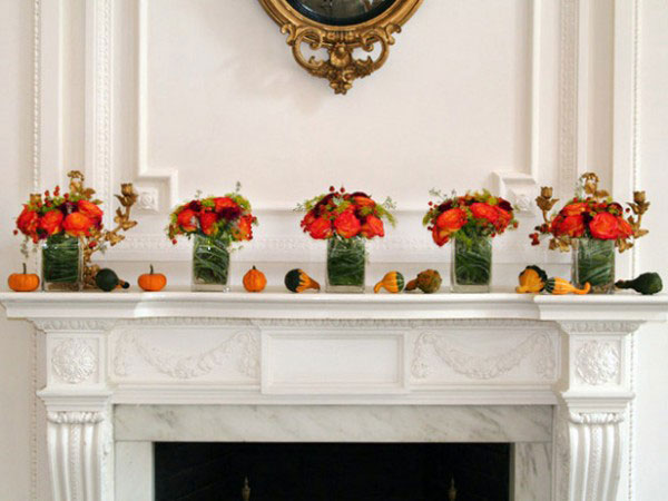 Vote for your favorite fall mantel