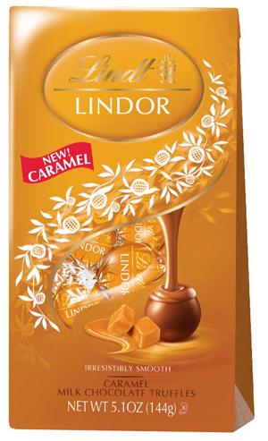 Lindor Caramel Truffles