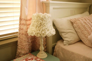 PB Kids rose lamp shade