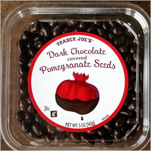 Trader Joe's Dark Chocolate Covered Pomegranate Seeds