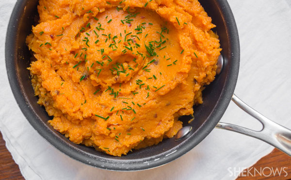 Chipotle mashed sweet potatoes | SheKnows
