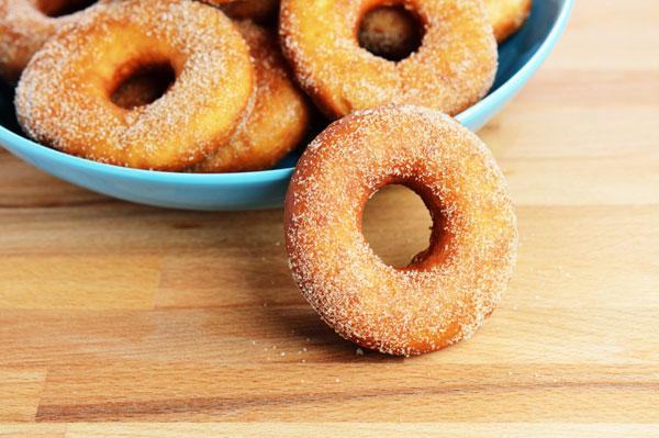 Sweet potato baked donuts
