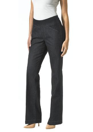 Figure-flattering jeans
