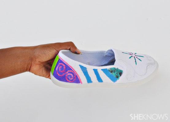Unicorn: shoe complete