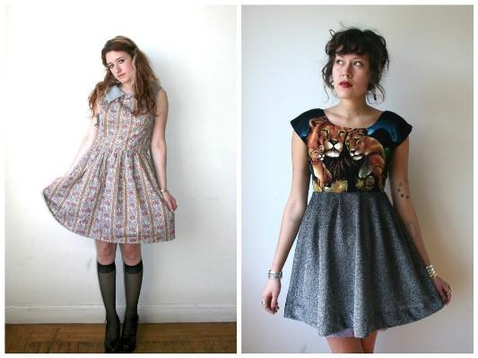 Vintage fabrics never looked so good
