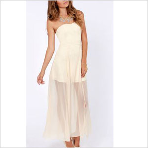 Dream strapless dress