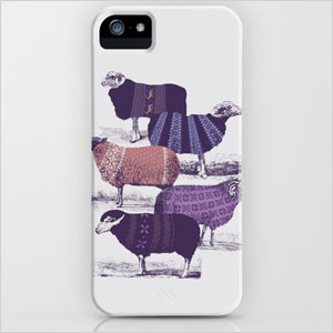 Sheep wearing sweaters case