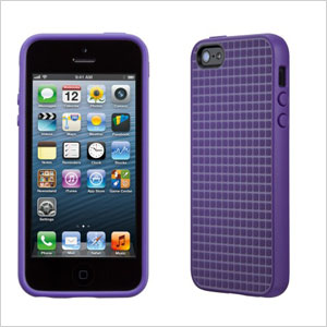Purple Pixel Skin case