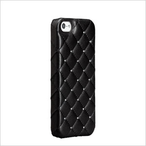 Quilted leather case