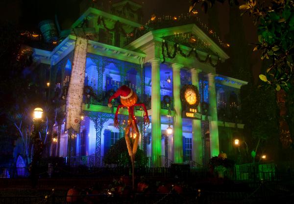 Disney family vacation- Halloween Haunted Mansion