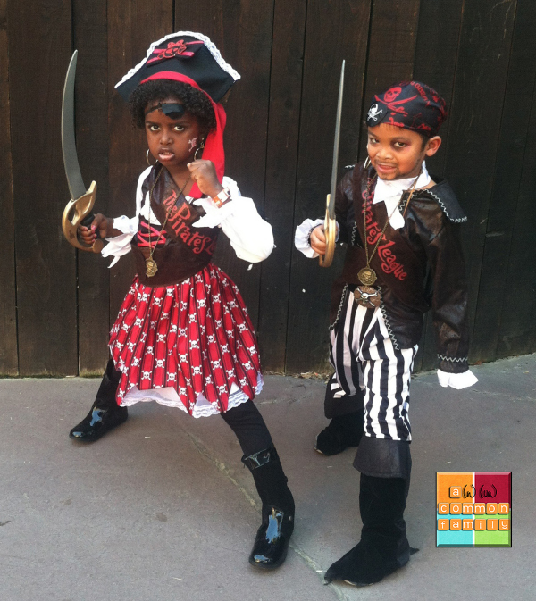 Disney family vacation- costumes