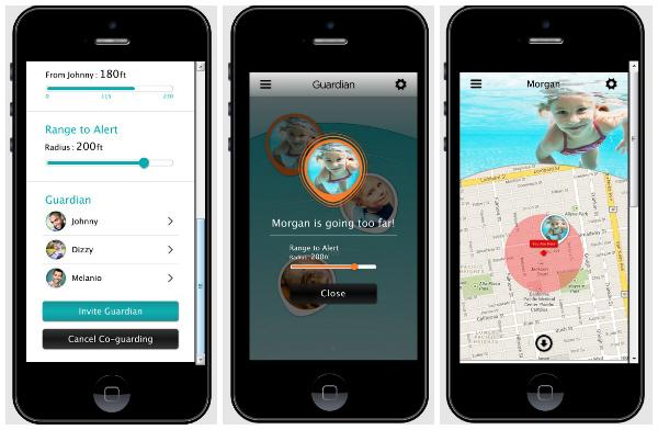 BeLuvv Guardian app collage