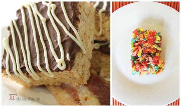 rice krispie treats collage 2