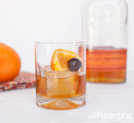 allParenting Thanksgiving cocktails:Maple Old Fashioned