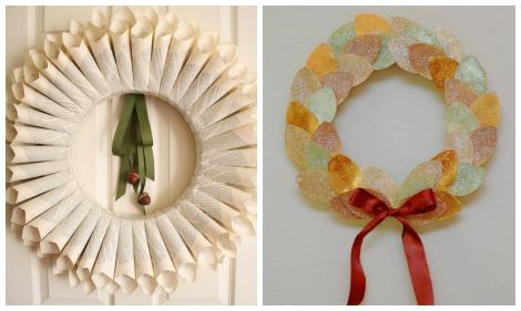 Thanksgiving wreaths DIY roundup collage 2