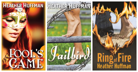 HEather Huffman additional book covers collage