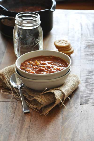 Vegetarian Thanksgiving: PUmpkin chili