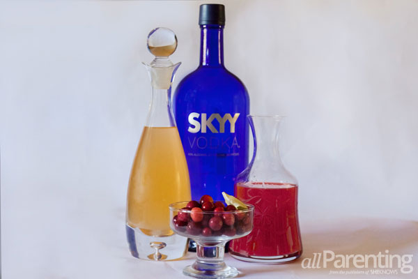 allParenting Fall ginger cocktail