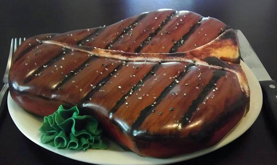 eat Cakes steak cake