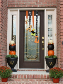 Fall porch decor: Add some whimsy
