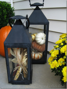 Fall porch decor: Easy DIY decorations