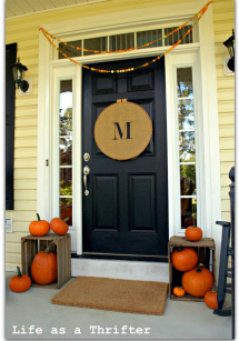 Fall porch decor: Shop the thrift stores