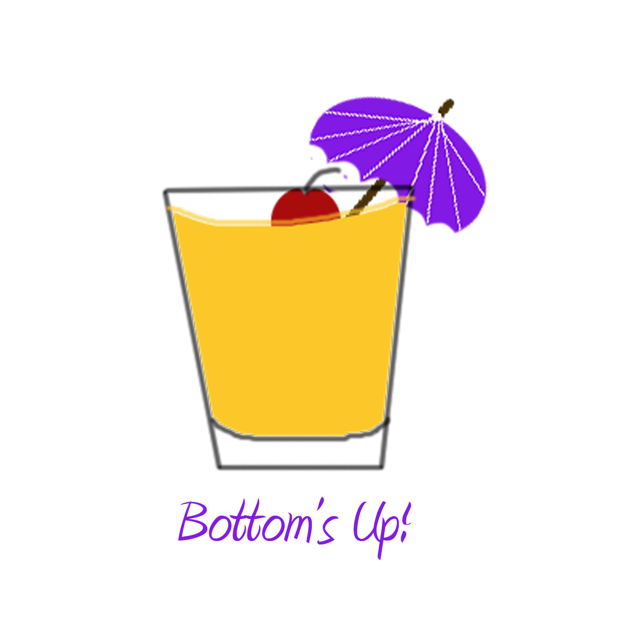 Low Ball cocktail coaster image
