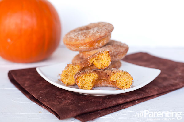 allParenting pumpkin spice donuts